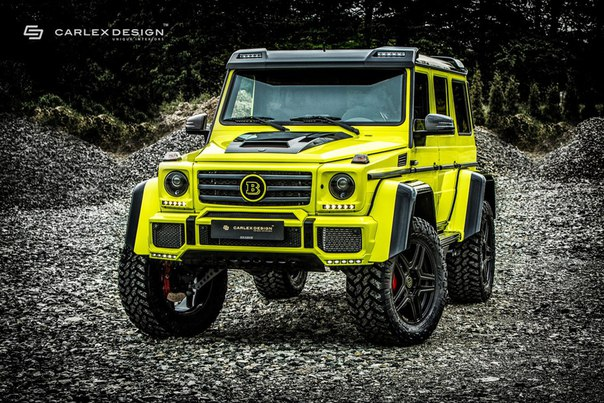 Mercedes-Benz G500 4x4 by Brabus от Carlex Design.